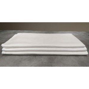 Nappe coton blanc