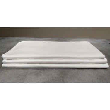 Nappe coton blanc 150 x 250