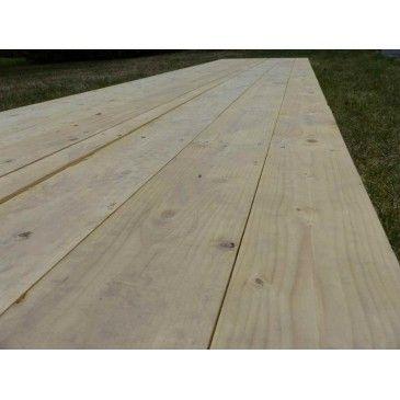 Plancher bois au m²