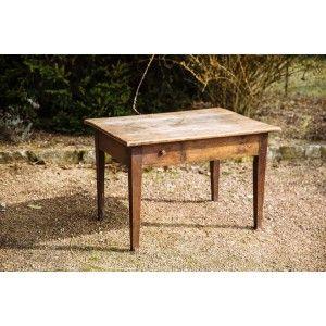Table en bois ancien 4-6...