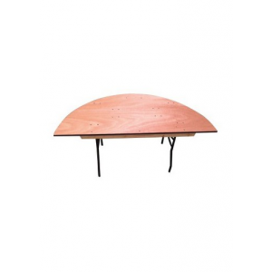 Table demi-ronde