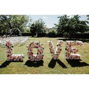 LOVE Fleuri 1m