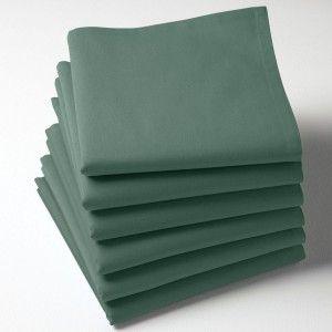 Serviette tissu Vert bouteille
