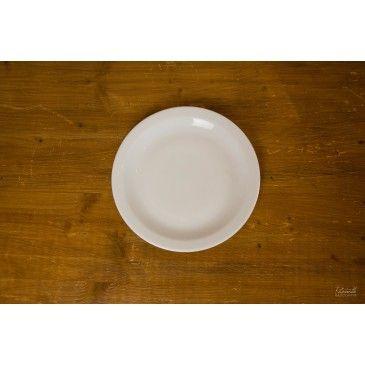 Assiette plate porcelaine Clémence 24 cm