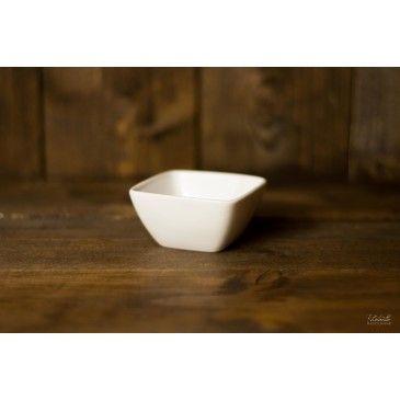 Coupelle porcelaine Carrée