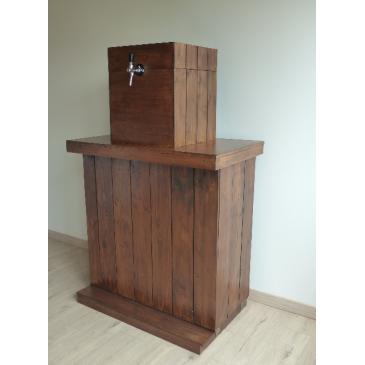 Cache machine à bière pour Bar en bois